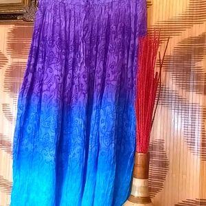 Cotton Candy Maxi Skirt